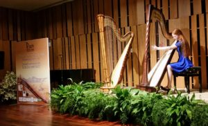 Inge van Grinsven - internationaal harpconcours in Porto
