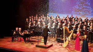 Inge van Grinsven_ kerstconcert met la Bonne Esperance in de Schalm