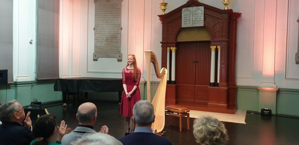Inge van Grinsven - harp - Willem II Den Bosch 3