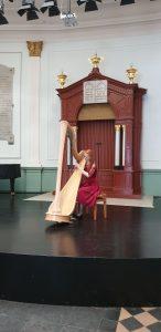 Inge van Grinsven - harp - Willem II zaal Den Bosch 1