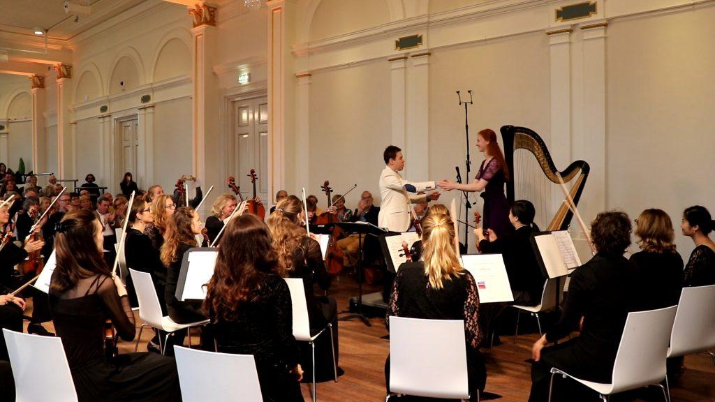 Debussy Dances Sacrée et Profane - Inge van Grinsven met Sinfonia Rotterdam