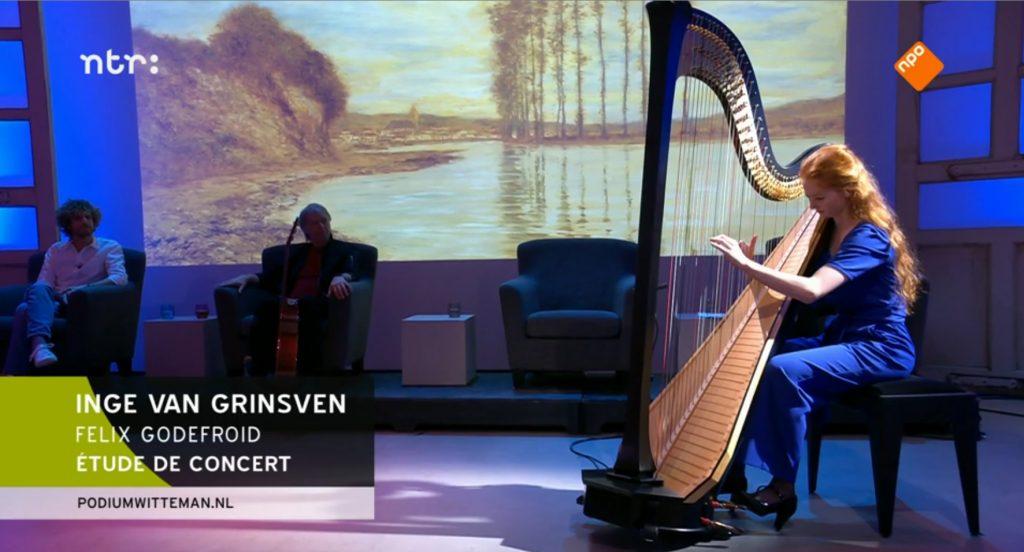 Podium Witteman - etude de concert Godefroid door Inge van Grinsven